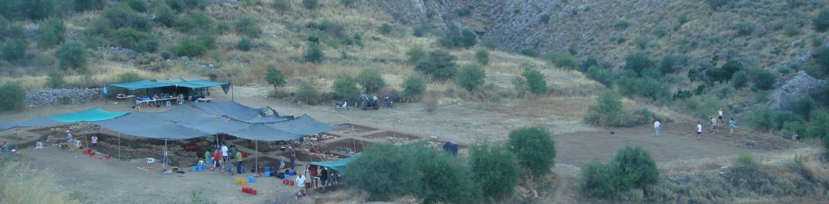 Excavation at Mycenae